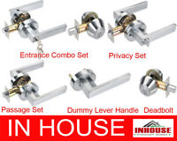 Door Handles locks Passage Privacy Entrance set Deadbolt Dummy handle Satin6502R