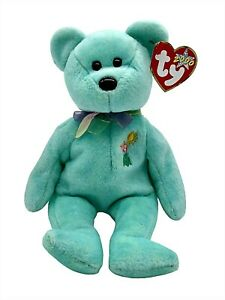 Ty Beanie Baby Ariel The Bear Collectible Retired Plush Vintage Holo Tag New