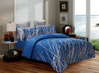 BLUE TREE Duvet/Doona/Quilt Cover Set Double/Queen/King/Super King Size Bed New