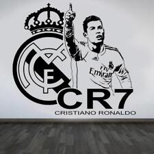 Wallpaper RONALDO Wall Sticker Football Removable Kid Room Decor Poster Fan Gift