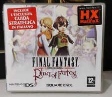 FINAL FANTASY CRYSTAL CHRONICLES RING OF FATES NINTENDO DS 2DS 3DS NUOVO ITALIAN