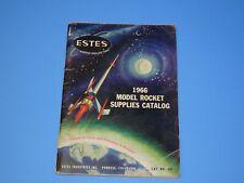 Estes Model Rocketry CATALOG - 1966 model rocket #651