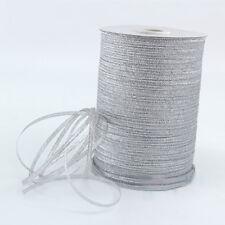20yards Metallic Glitter Ribbon Satin Ribbons Belt Gift Packing Wedding Crafts