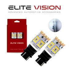 Elite Vision 3157 White LED Turn Signal Light Bulbs Kit for Ford 2600LM 3000K