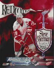 Steve Yzerman Detroit Red Wings Knights Of The Ice 8x10 Photo