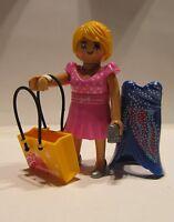 Playmobil / 1 Shopping Queen Figur / 2x Kleider / Tasche / Exclusive  / Neu
