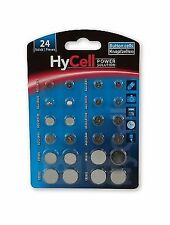 HyCell Alkaline and Lithium Buttoncoin Cell Set