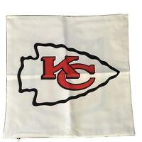 NFL Custom Pillow/Seat Cover With Zipper Kansas City Chiefs Patrick Mahomes New