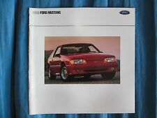 1990 Ford Mustang Marketing Brochure