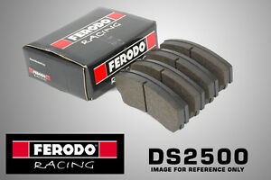 Ferodo DS2500 Racing For Renault Clio II 3.0 V6 Front Brake Pads (03-04 BRM) Ral