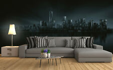 Bedroom wall mural photo wallpaper Dark New York Skyline City Feature wall
