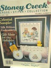 Stoney Creek Magazine Vol 6 Nov/Dec 1994 Counted Cross Stitch Patterns Vintage