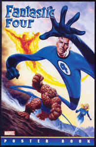 FANTASTIC FOUR Poster Book Marvel Legends