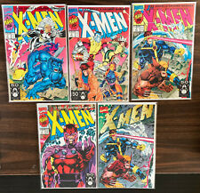 X-MEN #1  Vol.2  1991 FULL SET of ALL 5 Covers NM/MINT UNCIRCULATED/UNREAD