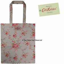 Cath Kidston Book Bag Washed Roses (stone) cotton *100% authentic* *BNWT*