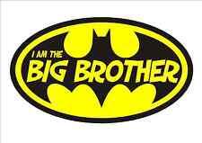 IRON ON TRANSFER - BATMAN - I am the BIG Brother