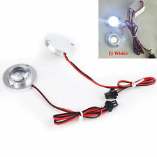1pair Car 2LED Strobe Wihte Bulb Light Emergency Warning Flash 12V With Controll