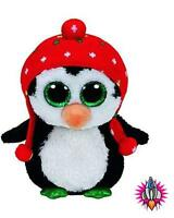 TY BEANIE BUDDIES BUDDY FREEZE THE CHRISTMAS PENGUIN SOFT TOY NEW WITH TAGS