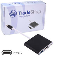 3in1 USB-C Typ C Adapter auf HDMI/USB/USB-C Anschluss für HP ProBook 450 G5