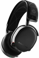 STEELSERIES Arctis 7 Wireless PC Gaming Noise Cancelling Headset - Black