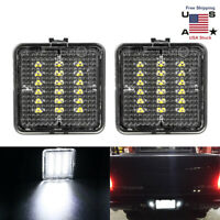 2PCS Full LED License Plate Lights Lamps For 2016-2019 Toyota Tacoma / Tundra US