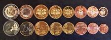 LATVIA LETTLAND 2014 8 COINS SET 1 C - 2 EURO UNC (# 520)