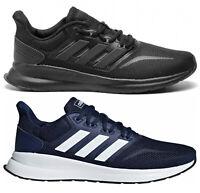ADIDAS RUNFALCON scarpe uomo sportive sneakers ginnastica tessuto running fit