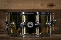 "DW 14"" x 6.5"" Bell Brass Snare Drum, Polished, B-Stock ON: 1197979"