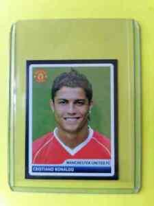 Cristiano Ronaldo Manchester. UTD  Champions League 2006-2007 PANINI