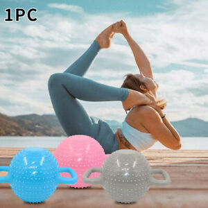 Portable Pilates Massage Women Water Filled PVC Yoga Double Handle Kettle Bell