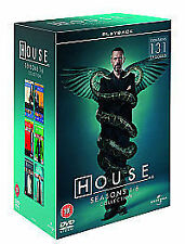 House - Series 1-6 - Complete (DVD, 2010, 34-Disc Set, Box Set) Mint Condition