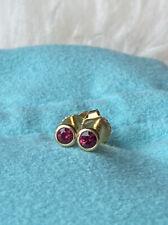 Tiffany & Co. 18k Ruby Colors by the Yard Earrings
