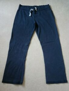 Fat Face Activewear Trousers Jogging Bottoms Size 14 Navy Blue