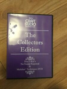My Craft Studio Collectors Edition Cd Roms Double Disc 3 Kids No Stamp Required