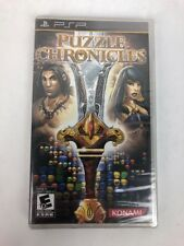 Puzzle Chronicles (Sony PSP, 2010) COMPLETE RPG GAME - Ships FREE