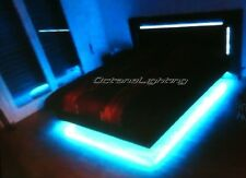 RGB LED Color Changing Bedroom Bed Room Mood Accent Lights Kit *Beats To Music*