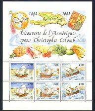 Mónaco 1992 Columbus/Veleros/transporte/exploración/Náutica 6 V Sht n33763