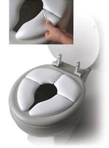 Mommy's Helper Cushie Traveler Folding Padded Potty Training Toilet Seat - 79226
