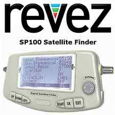 REVEZ SP100 Semi Professional Satellite Finder Meter Tool Incl Battery, USB, etc