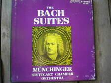 BACH 4 Orchestral Suites London ffss Karl Munchinger NM