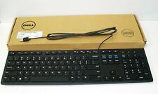 NEW Dell KB216-BK-US Wired Keyboard - Black   USB