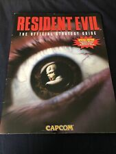 Resident Evil 1 Official Strategy Guide PlayStation PS1 Capcom 1996 Rare Edition