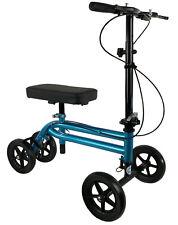 KneeRover Economy Knee Scooter Steerable Knee Walker in Metallic Blue