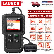 OBD2 Scanner Code Reader Check Engine Fault Code Erase Codes Car Diagnostic Tool