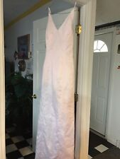 Womens/Girls Bridemaids/Semi Soft Pink Dress Size 9/10
