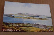 Postcard Scotland The Cumbraes Bute & Arran Hills   unposted  .