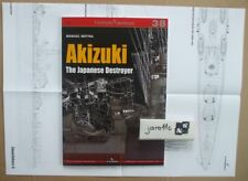 The Japanese Destroyer AKIZUKI - TopDrawings, KAGERO