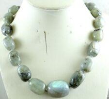 Natural labradorite beads pendant Gemstone Handmade Making Necklace Jewellery