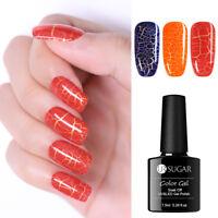 UR SUGAR Soak Off UV Luminous Crackle Gel Polish Nail Art  Gel Varnish