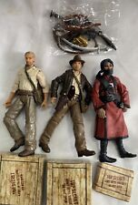 Indiana Jones 33/4 Figures Thuggee Indiana Hat No Hat Top Secret Boxes Lot